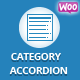 WooCommerce Category Accordion