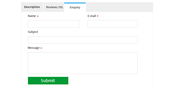 How To Convert Contact Form Into A Woocommerce Product Enquiry Form